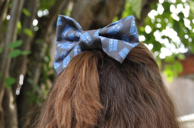 Tardis Hairbow